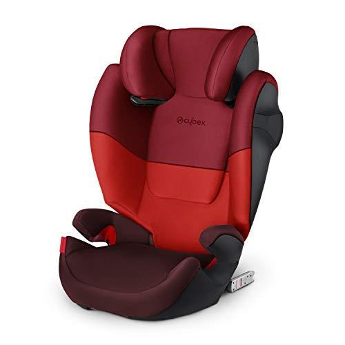 Cybex Silver Kinder-Autositz Solution M-Fix, Für Autos mit und ohne ISOFIX, Gruppe 2/3 (15-36 kg), Ab...