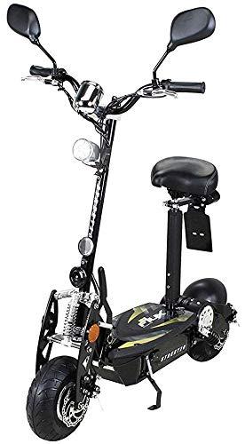eFlux Street 20 Elektroroller Scooter - 500 Watt Motor - Scheibenbremsen - LED Scheinwerfer -...