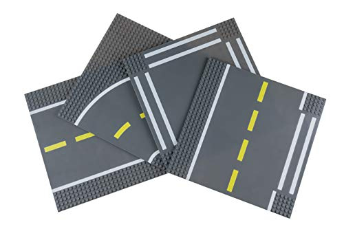Strictly Briks - Straßen-Bauplatten - Bausteinplatten für Straßen, Städte, Garagen & mehr - 100 %...