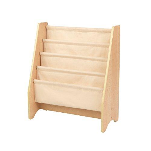 KidKraft 14221 Hängefachregal aus Holz, Möbel für das Kinderzimmer, Bücher- und Aufbewahrungsregal -...