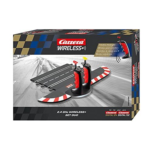 Carrera Wireless Set Duo Digital 132/124 – Kabellose Controller, Doppelladestation u.v.m. –...