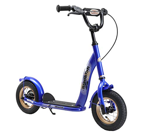 BIKESTAR Roller Kinderroller Tretroller Kickscooter mit Luftreifen für Jungen und Mädchen ab 4 - 5...