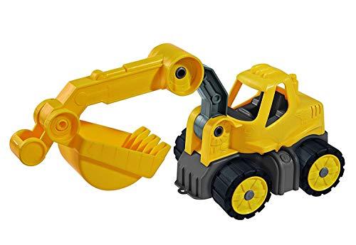 BIG - Power-Worker Mini Bagger - Baggerfahrzeug geeignet als Sandspielzeug und für das Kinderzimmer,...