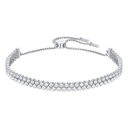 Swarovski Subtle Armband, Rhodiniertes Damenarmband mit Funkelnden Swarovski Kristallen