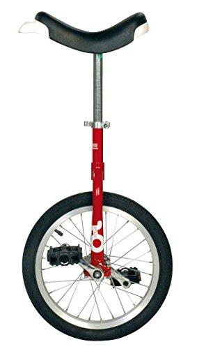 Sport-Thieme Onlyone® Einrad Outdoor (16', 28 Speichen, Rot)