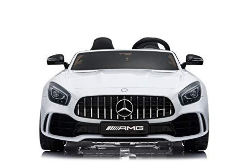 Kinderfahrzeug - Elektro Auto 'Mercedes GT R Doppelsitzer' - lizenziert - 12V10AH, 2 Motoren- 2,4Ghz...