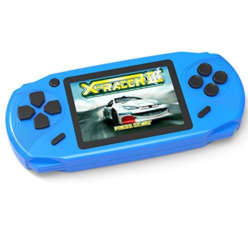 Bornkid 16 Bit Handheld Spielekonsole für Kinder und Erwachsene mit Integriertem 100 HD Videospiel 3,0...