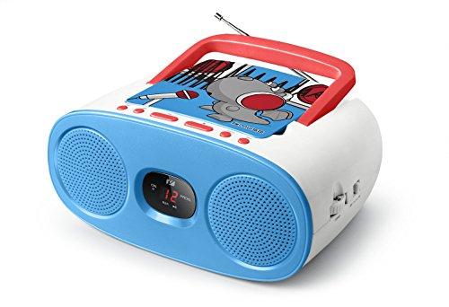 Muse M-20 KDB CD-Radio für Kinder (CD, AUX-In, LCD-Display, Teleskopantenne, Netz- oder...