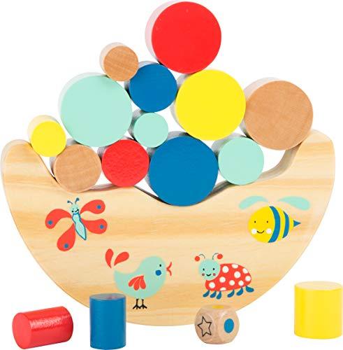 small foot 10945 Balancierwippe Move it aus natürlichem Holz, 100% FSC-Zertifiziert, für Kinder ab 3...