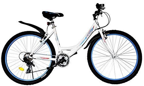 T&Y Trade 24 Zoll Kinder Mädchen Fahrrad Mädchenfahrrad Mädchenrad Mountainbike MTB Bike Rad 21 Gang...