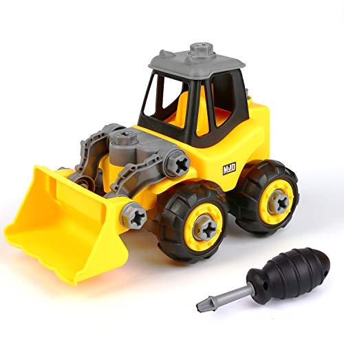 Vegena Montage Spielzeug Auto, Kleinkind Bagger Lastwagen Auto mit Schraubenzieher Zusammenbauen und...