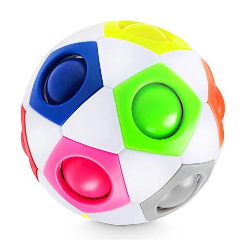 Lucky Humans® -Premium Regenbogenball- Geschicklichkeits-Spiel für Kinder und Erwachsene – Mitgebsel...