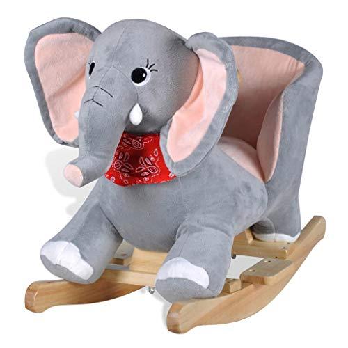 vidaXL - Schaukeltier Elefant