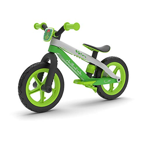 Chillafish Bmxie 2 leichtes Laufrad mit integrierter Fußstütze und Fußbremse, für Kinder 2 bis 5...