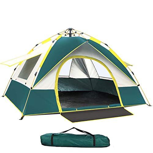 YZSS Wurfzelt Pop Up Zelt 3-4 Personen Kuppelzelt Leichtes Campingzelte Wasserdichtes Winddicht...