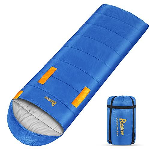Relefree Schlafsack, Deckenschlafsack Leichtgewicht Warm Outdoor 100% Baumwollhohlfaser für...