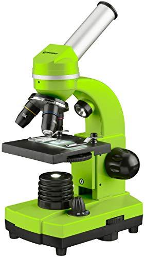 Bresser Junior Schülermikroskop BIOLUX SEL mit Smartphonehalter, reichhaltigem Zubehör und...