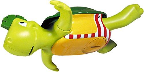 TOMY Wasserspiel für Kinder, 'Plantschi die singende Schildkröte', hochwertiges Babyspielzeug mit...
