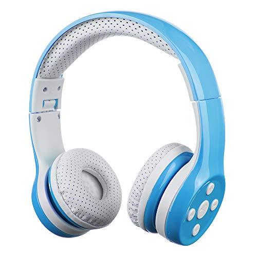 Bluetooth Kopfhörer Kinder, Hisonic Kinderkopfhörer Leicht Tragbare Headset mit Laustärkebegrenzung...