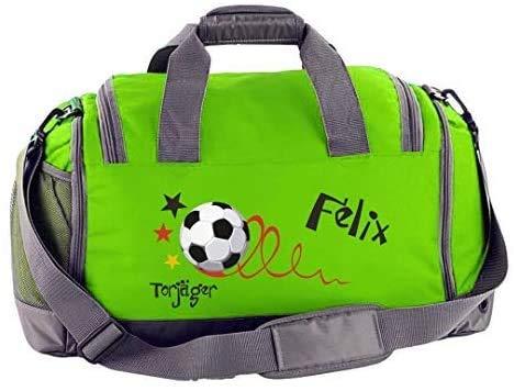 Mein Zwergenland Sporttasche Kinder mit Schuhfach und Nassfach Kindersporttasche 41L mit Namen...