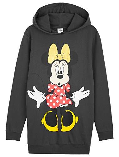 Disney Oversize Pullover Damen, Hoodie Kleid mit Minnie Mouse, Pulloverkleider Damen und Teenager...
