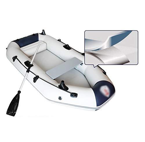 GUOE-YKGM Kayak Faltkajak - Aufblasbares 2-Personen-Kajak-Set Mit Schlauchboot, Zwei Aluminiumrudern Und...