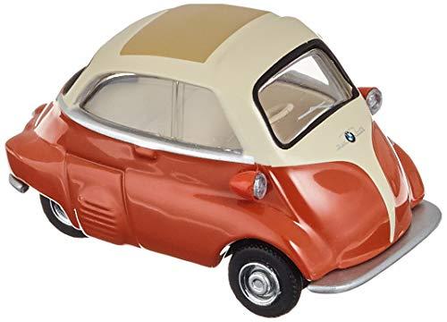 Schuco 452016500 BMW Isetta, beige 1:64 452016500-BMW, Modellauto, Modellfahrzeug, orange, Creme