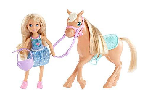 Mattel Barbie DYL42 - Chelsea und Pony