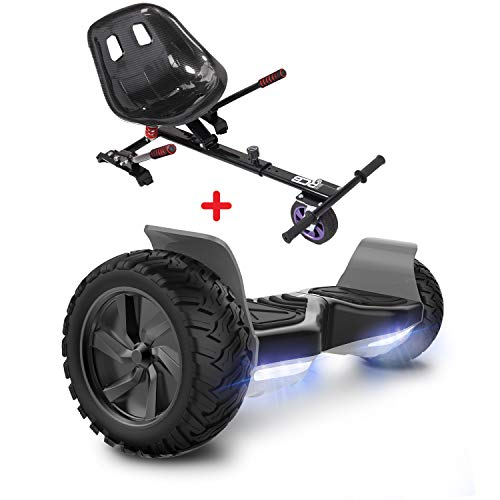 GeekMe Hoverboards mit Sitz,Off Road Hoverboards mit Off Road Hoverkart,8,5 Zoll Hoverboards mit...