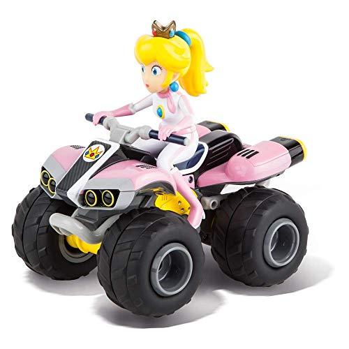 Carrera RC Nintendo Mario Kart 8 Peach Quad │ Ferngesteuertes Auto ab 6 Jahren für drinnen & draußen...