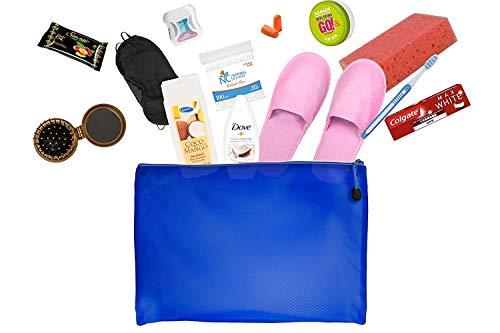 Reiseset mit Körperpflegeprodukten Bundle mit Colgate, Kappus Shampoo, Taube, Handcreme Agrado, Klinik,...