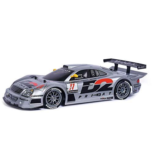 TAMIYA 47437 1:10 MB CLK-GTR 1997 (TT-01E), ferngesteuertes Auto, RC Fahrzeug, Modellbau, Bausatz zum...