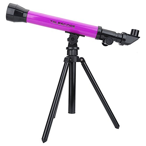 Garsent Teleskop für Kinder, Kids Astronomical Telescope Pädagogisches Spielzeug mit Stativ Monocular...