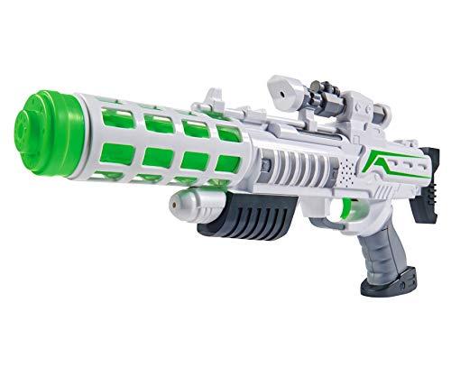 Simba 108046945 - PF Light Blaster Gewehr, mit Licht und Sound, Farbwechselfunktion, 44cm, ab 3 Jahren