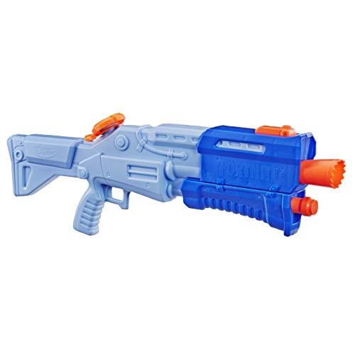 Super soaker E6876EU4 Fortnite TS-R Nerf Wasserblaster Spielzeug – Pump-Action – Kapazität von 1 L...