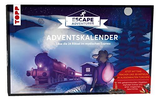 Adventskalender Escape Adventures - Der mystische Express: Löse die 24 Rätsel im mystischen Express....