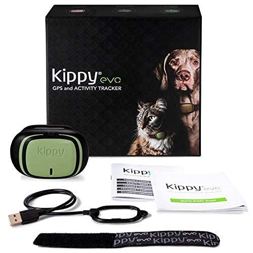 KIPPY - EVO - Das Neue GPS und Activity Monitor für Hunde und Katzen, 38 gr, Waterproof, Batterie 10...