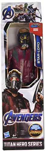 Marvel Avengers Titan Hero Serie Star-Lord 30 cm große Action-Figur mit Titan Hero Power FX Port