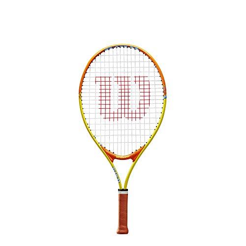 Wilson, Kinder-Tennisschläger, Slam 23, Orange/Grau, Für Kinder mit einer Körpergröße von 115 bis...