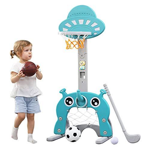 Arkmiido Basketballkorb für Kinder 5 in 1 Sportaktivitätszentrum Einstellbar Einfaches Ergebnis...