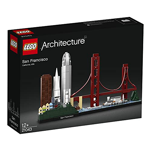 Lego 21043 Architecture San Francisco Skyline-Kollektion, Baumodell mit Golden Gate Bridge und Alcatraz...