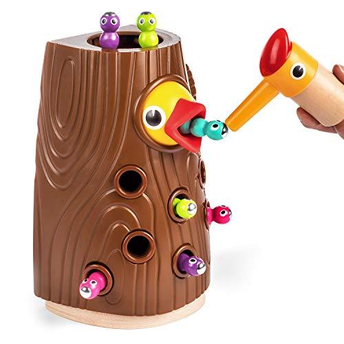 TOP BRIGHT Lernspielzeug ab 2 Jahren Jungen und Mädchen Geschenke, Feinmotorik Spiele Montessori...
