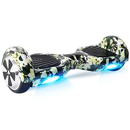 Windgoo Hoverboard mit Bluetooth Lautsprecher und LED-Lichtern