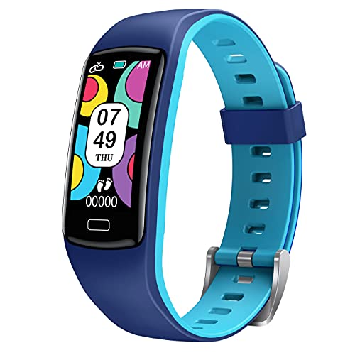 CatShin Smartwatch für Kinder - Fitnessuhr Kinder Mädchen Jungen Jugendlich Armbanduhr Uhren mit...