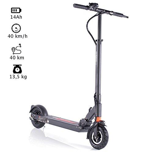 WIZZARD 2.0 City E Scooter Leistungstarker Elektro Roller mit 35 Km/h und 40 Km Reichweite by Monowheel