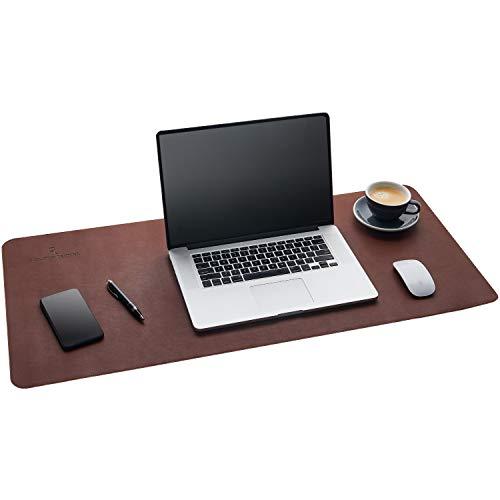 Gallaway Schreibtischunterlage Leder – 91,5x43 cm Große Schreibtisch Unterlegmatte – Unterlage...