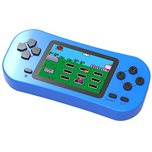 Bornkid Handheld Spielekonsole für Kinder und Seniors mit Integriertem 218 Videospiel 2,5 Zoll...