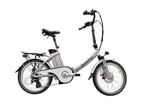 GermanXia E-Bike E-Klapprad/-Faltrad Mobilemaster Touring CH-15,6 7G Shimano 20 Zoll, eTurbo 250 Watt...