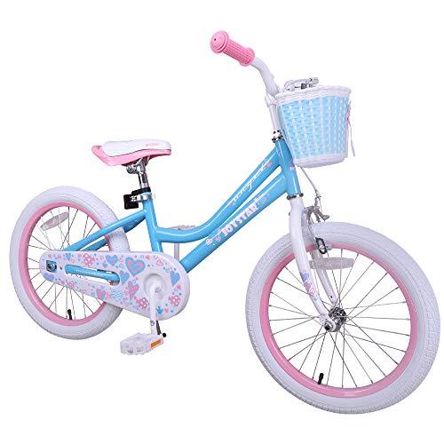 Hiland Kinderfahrrad Jungen Mädchen 5+ Jahren Space Shuttle Fahrrad 18 Zoll Ständer Kinderfahrrad...