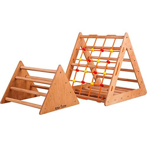 Kletterdreieck - Indoor- für Babys, Kleinkinder, Kinder Aktivspielzeug - Starker Rahmen,...